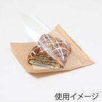 HEIKO 片面透明バーガー袋 18-18 未晒無地 【4000枚入り】(100枚×40)