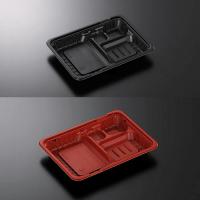 CTガチ弁 IK23-17E2 黒/赤 身/蓋 【900個入り】(50個×18)