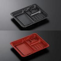 CTガチ弁 IK24-20E2 黒/赤 身/蓋 【800個入り】(50個×16)