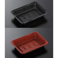 CTガチ重 IK18-13 黒/赤 身/蓋 【1200個入り】(50個×24)