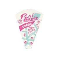 01464 パリスクレープ袋 ピンク 【2000枚入り】