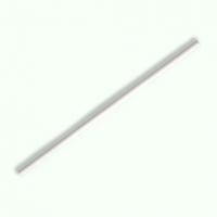 紙ストロー 6mm×210mm 平口 白 裸 【2000本入り】(500本×4)
