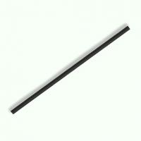 紙ストロー 6mm×210mm 平口 黒 裸 【2000本入り】(500本×4)