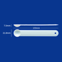 家庭用計量スプーン1cc 白 バラ 【3000本入り】(500本×6)