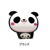 あにぽて パンダ ブラック/ピンク/オレンジ 【1000個入り】(25個×40)