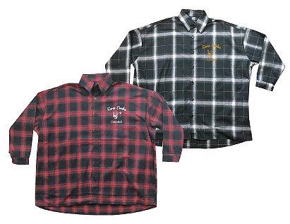 ZE Big Silhouette Flannel Shirt