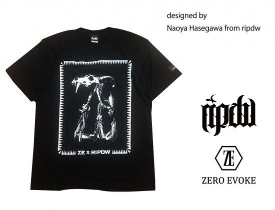 ZERO EVOKE × ripdw / BEAST Tee