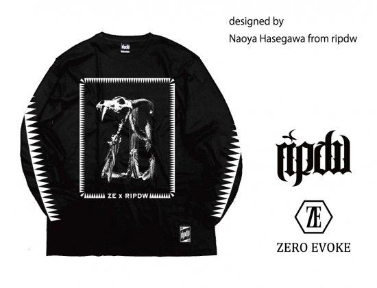 ZERO EVOKE × ripdw / BEAST L/S Tee