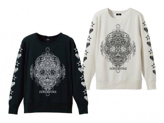 Style Skull Sweat【BLACK・WHITE】