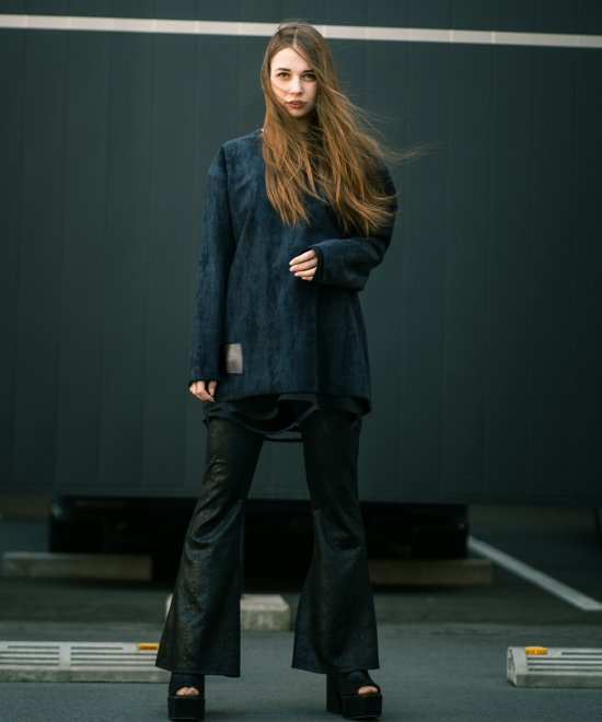 PYTHON OVER LONG-T【NAVY】