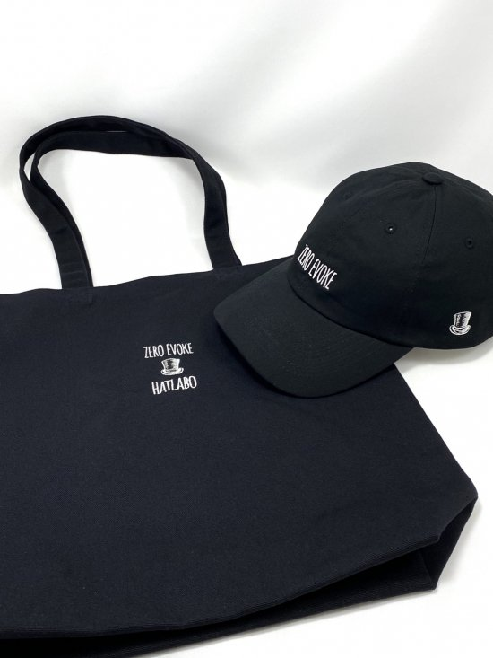 ZE×HATLABO - CAP & Tote Bag「SET PACK」