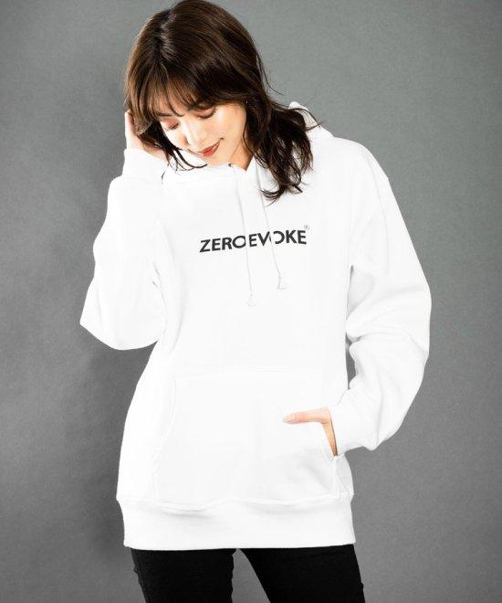 ZE Logo Fourth Pullover Parka [WHITE]