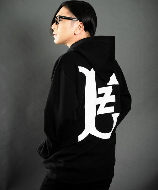 ZE Logo Fourth Pullover Parka 【BLACK】