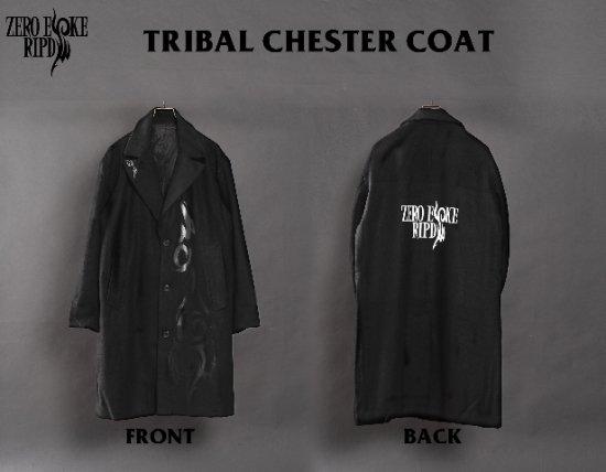 RIPDW × ZERO EVOKE Tribal Chester Coat [Ladys]