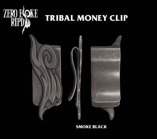 RIPDW × ZERO EVOKE Tribal Money Clip<img class='new_mark_img2' src='https://img.shop-pro.jp/img/new/icons20.gif' style='border:none;display:inline;margin:0px;padding:0px;width:auto;' />