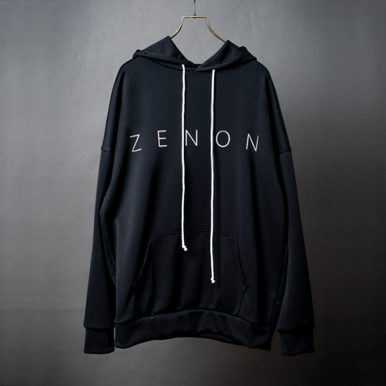 Jersey Logo Big Hoody【BLACK】<img class='new_mark_img2' src='https://img.shop-pro.jp/img/new/icons5.gif' style='border:none;display:inline;margin:0px;padding:0px;width:auto;' />
