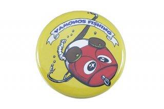 ねずみーマウス 缶バッチ (サイズ:小 イエロー)
