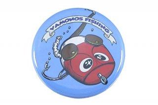 ねずみーマウス 缶バッチ (サイズ:小 ブルー)