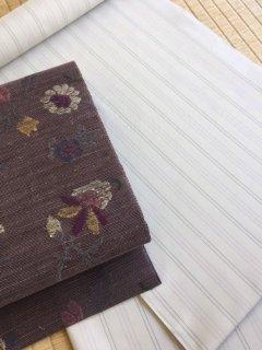 中川織物謹製 夏大島