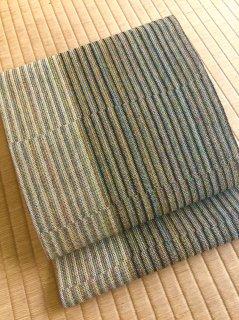 滋賀喜織物謹製 正倉院平組 八寸帯