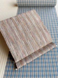 多色手織り 八寸名古屋帯