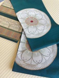 洛風林謹製 ラ・レコルト 千歳緑地 袋帯