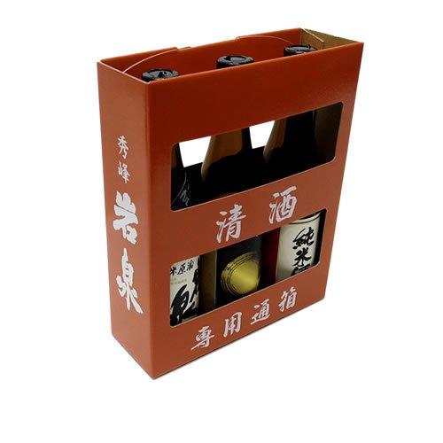 純米酒・純米吟醸・生酛180ml 3本セット