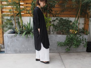 Emouvoir オリジナルワイドパンツ  【生成り・ホワイト】