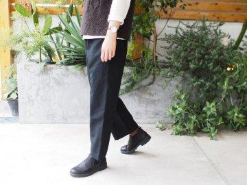 Emouvoir オリジナルクロップドパンツ  【2サイズ・black】