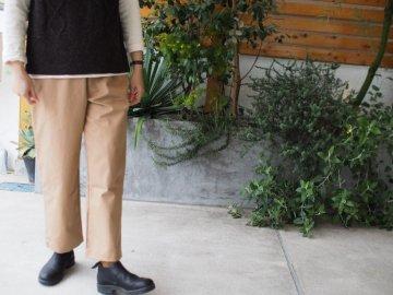 Emouvoir オリジナルクロップドパンツ  【2サイズ・beige】