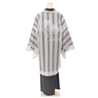 ラメレース羽織(ホワイト)