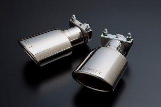 ERST(エアスト)ボルボ専用V60/S60(FB) 2011~, XC60 (DB) 2010~13 120φオーバルテール マフラーカッター (ノーマルリアスカート用)