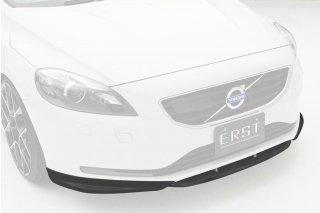 ERST(エアスト)ボルボ専用 V40(MB) 2013年~ エアロパーツ フロントリップスポイラー 3Pセット(センターフラップ付き)