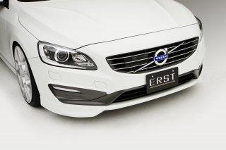 ERST(エアスト)ボルボ専用V60/S60 2014年~ エアロパーツ フロントリップスポイラー