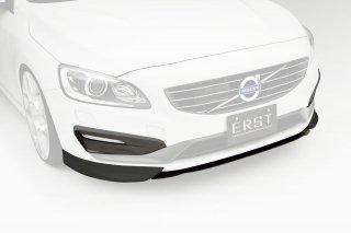 ERST(エアスト)ボルボ専用 V60/S60 2014年~ エアロパーツ フロントリップスポイラー3P(フロントリップスポイラー/フロントセンターフラップ) +DRLグリルセット