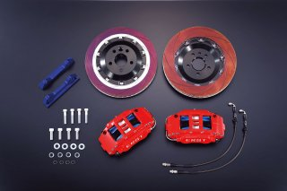 ERST(エアスト)ボルボ専用 V60/S60(FB) ブレーキシステム・BRAKE SYSTEM/FRONT 6POT 370 RED