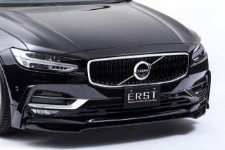 ERST(エアスト)ボルボ専用S90/V90(PB/PD) 2017年~エアロパーツフロントリップスポイラー+サイドリップ セット