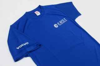 ERST 2018 (エアスト) ドライ Tシャツ ブルー M