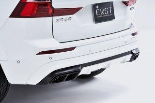 ERST(エアスト)ボルボ専用XC60(UB) 2017年~ エアロパーツ リアスカート+マフラーカッター