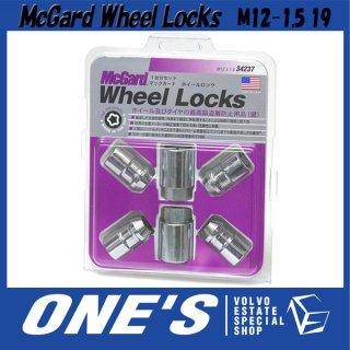 在庫処分大特価!Mc Gard ホイールロックナットクローム M12×1.5 19 ボルボC30/V40/V50(MB)