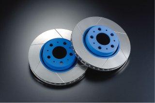 在庫処分大特価!ERST BLUE SLIT DISK ROTOR REAR(850・V70)