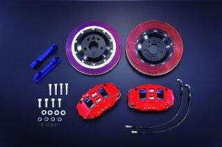 ボルボ専用ERST(エアスト) V90/S90(PB/PD) ブレーキシステム・BRAKE SYSTEM/FRONT 6POT 370 RED
