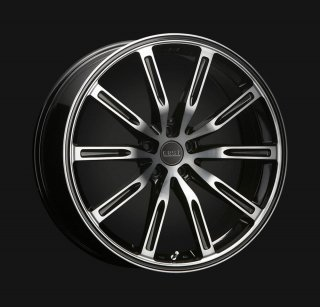 ERST newWHEEL S10-R 19×8.0J (49) ブラックライトスモーク/ポリッシュ V60/S60用 ピレリタイヤ4本セット!