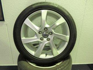V60(FB/FD)用 17インチ純正アルミホイール・タイヤセット(中古品)