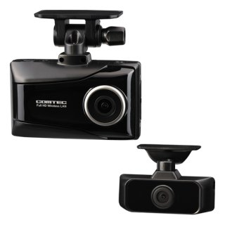 コムテック(COMTEC) ドライブレコーダー メイン(前方)・サブ(車内)2カメラ(HDR953GW)