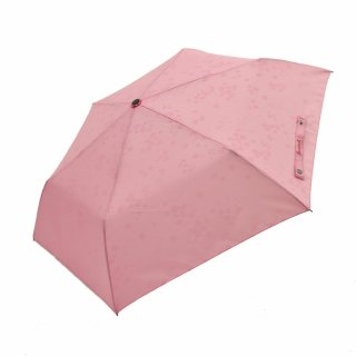 バーバパパ傘 桜の柄が浮き出る折傘 (BARBAPAPA)