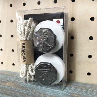 BEIGOMA オリジナル 「東京」 ベーゴマ 角六サイズ Made In Japan お土産 日本製 外国人へのギフトにも♪ BE-GOMA BEIGOMA