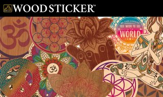 WOODSTICKER ウッドステッカー METAPHYSICAL キャンステ MADE IN USA