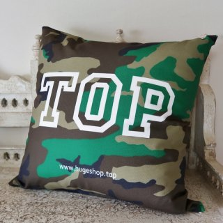 MR.HUGE TOP POSITIONING PRINTED CUSHION(トップ ポジション プリント クッション)