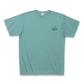 MR.HUGE MINI CROCODILE PRINTED (わに ミニ プリント)Tシャツ ミント